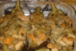 Shrimp Stuffed Eggplant picture