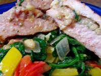 Fig, Pine Nuts and Feta Stuffed Pork Loin picture