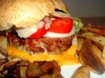 Spicy Grilled Turkey Burgers picture