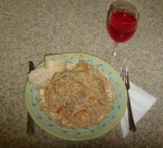 Linda's Lemon Shrimp a La Vodka Pasta picture