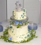 White Chocolate Wedding Cake picture
