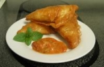 Mint and Cottage Cheese Samosas picture