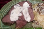 Crockpot Roast Beef and Horseradish Sauce picture