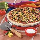 Mexican Vegetable Pizza picture