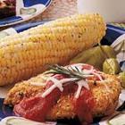 microwave chicken parmesan/chicken breast cacciato picture