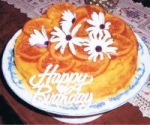 Orange & Almond Cake With Glace Oranges & Syrup picture