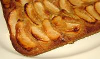 Traditional English Apple Traybake - Apple Pudding Cake picture
