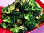 Broccoli Roasted With Garlic, Chipotle Peppers and Pine Nuts picture