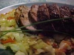 Asian Pork Tenderloin With Spicy Asian Slaw picture