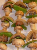 Grilled Sesame-Garlic Beef Skewers picture