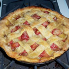 most spectacular strawberry pie picture