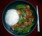 Thai Shrimp and Roasted Red Chili Stir-Fry picture