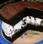 Chocolate Covered Oreo Cookie Cake picture