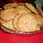 oatmeal butterscotch cookies picture