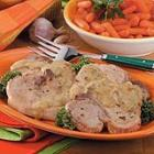 orange basil chops picture