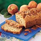 peach cobbler bread picture