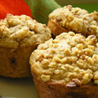 peanut butter banana muffins picture
