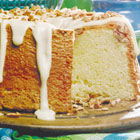 pecan sour cream pound cake picture