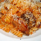Penne with Spicy Vodka Tomato Cream Sauce picture