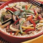 pepper steak with squash picture