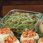 pimiento green beans picture