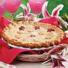 pineapple rhubarb pie picture