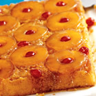 pineapple upside-down cake picture