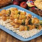 plum-glazed chicken kabobs picture