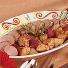 pork tenderloins with roasted potatoes picture
