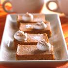 pumpkin pie squares picture