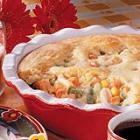 quick chicken pie picture