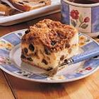 raisin buttermilk coffee cake picture