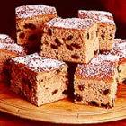 raisin spice cake picture