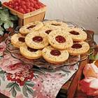 Raspberry Linzer Cookies picture