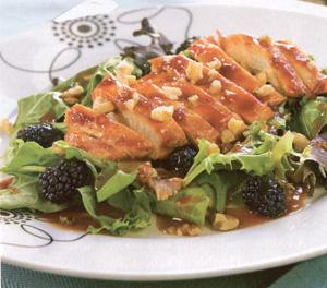 blackberry chicken salad picture