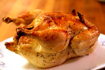 roasted garlic chicken recipe picture