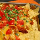 restaurant style chicken nachos picture