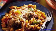 italian meatball casserole picture