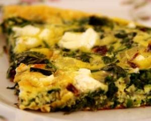 spinach frittata recipe picture