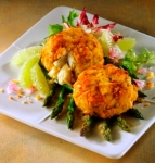 new england crab cake picture