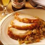 maiale con balsamico e soffritto (pork loin with balsamic vinegar and soffritto) picture
