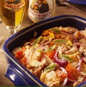 panzanella con faioli e tonno tuna and bean panzanela  picture