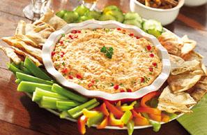 buffalo chicken wing dip picture