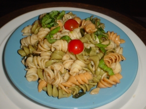 summer rotini pasta salad... picture