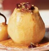 blue-cheese stuffed pears picture