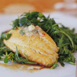 pan-seared tilapia with chile lime butter picture