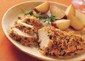 crunchy garlic chicken picture