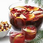 hot spiced cranberry cider picture