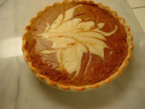 pumpkin cheese cake picture