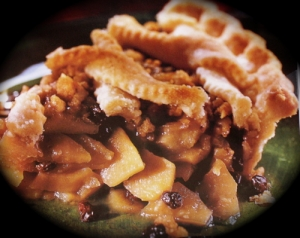 apple crumb pie picture